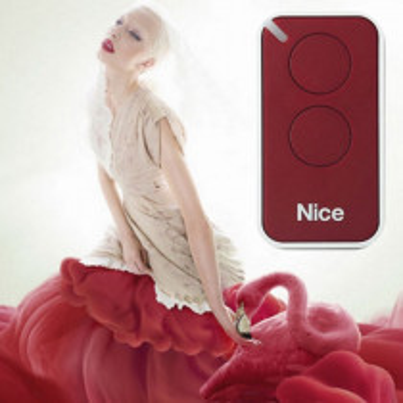 Télécommande NICE Inti2R - Rouge